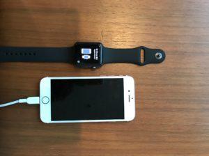 Apple Watch アクティベート